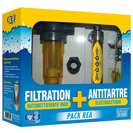 CR2J Pack REA filtration + antitartre