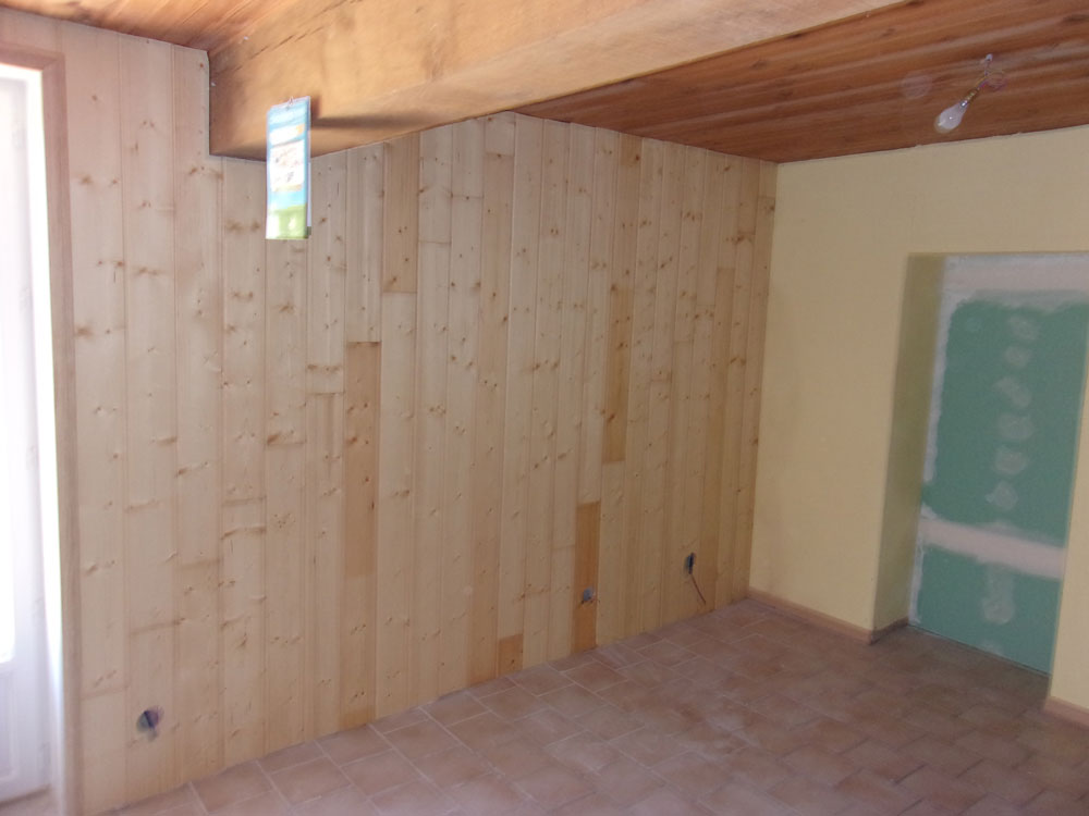 Lambris parquet peinture d coration int rieur r novation d 39 int rieur ext rieur artisan for Peindre bois vernis